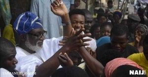 Reactions trail Akeredolu's victory as Jimoh Ibrahim mocks Fani-Kayode (watch victory dance)